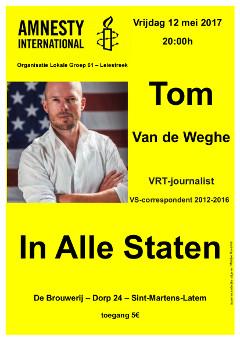 Affiche - Tom Van de Weghe - kl